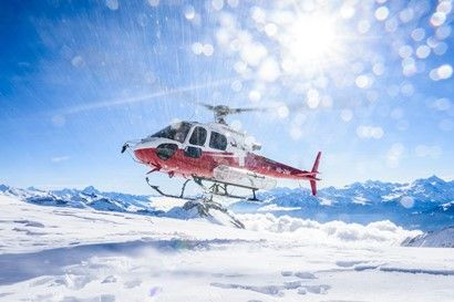 Swiss-Helicopter scenic flights