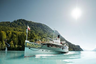 Day tickets for Interlaken cruises on Lake Thun and Lake Brienz