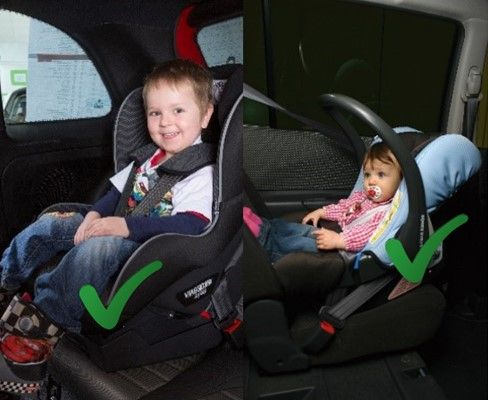 Seat belts / child seat